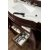 Burnished Mahogany 3cm Arctic Fall Top Overhead Drawer View