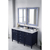 Victory Blue Carrara Quartz Top