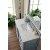 48'' Silver Gray 3cm Carrara Marble Top Overhead View