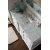 60'' Bright White 3cm Carrara Marble Top Overhead View