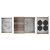 Home Refinements SmartStation 25-1/2'' W Single Sink Set with Stainless Steel Undermount Sink and Walnut Accessories