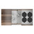 Home Refinements SmartStation 37-1/2'' W Single Sink Set with Stainless Steel Undermount Sink and Walnut Accessories