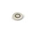 Julien Air Activated Switch Button Topmount Faucet Accessory in Brushed Platinum, 2-5/32'' Diameter