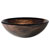 Kraus Nature Series Gaia Round Glass Vessel Sink, 17'' Dia x 6'' H, Multicolor Glass