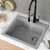 Kraus Grey Sink Lifestyle View 2