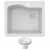 Kraus White Sink Display View