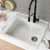 Kraus White Sink Lifestyle View 2