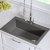 Grey Kitchen Sink Set