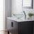 Kraus Single Lever Vessel Glass Waterfall Mixer, Chrome
