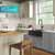 Kraus Matte Black Tall Oletto Kitchen Faucet Lifestyle View 3