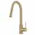Kraus Brushed Gold Standard Oletto Kitchen Faucet Display View