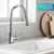 Kraus Chrome Standard Oletto Kitchen Faucet Lifestyle View 2