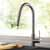 Kraus Stainless Steel Standard Oletto Kitchen Faucet Lifestyle View