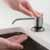 Spot Free Stainless Steel - Matte Black Dispenser Lifestyle View