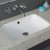 """Kraus Natura™ Rectangle Undermount Composite Bathroom Sink with Matte Finish and Nano Coating in White, 21-5/8"""" W x 14-3/16"""" D x 4-13/16"""" H"""