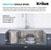 "Satin Stainless Steel - 33"" Minimum Cabinet Size"