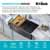 Gunmetal Stainless Steel - Workstation Design