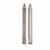 Knape & Vogt Full Extension Side Mounted, 100 lb Ball Bearing Drawer Slides in Stainless Steel