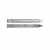 Knape & Vogt Full Extension, Side Mounted, 100 lb Ball Bearing Drawer Slide, 10''-28'' Long in Anochrome Finish - Set of 2