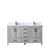 Distressed Grey - Base Cabinet With Countertop and Sink