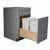 """Omega National 18"""" or 21"""" Select Wood Waste/Recycle Drawers, Double"""