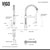 VIG-VG15017 Faucet Specifications