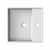 Nameeks Teorema 8031-D Semi Recessed Bathroom Sink
