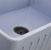 Nantucket Sinks Vineyard Collection Farmhouse Fireclay Reversible Sink