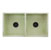"""33"""" Shabby Green Overhead View 2"""