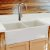 """Nantucket Sinks Vineyard Collection 33"""" Double Bowl Farmhouse Fireclay Sink in Shabby Straw, 33"""" W x 18"""" D x 10"""" H"""