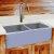 "Nantucket Sinks Vineyard Collection 33"" Double Bowl Farmhouse Fireclay Sink in Shabby Sugar, 33"" W x 18"" D x 10"" H"
