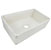 Nantucket Sinks Vineyard Collection Farmhouse Fireclay Reversible Sink