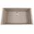 "Nantucket Sinks Plymouth Collection Large Single Bowl Undermount Granite Composite Truffle Sink, 30""W x 17-3/4""D x 8-1/4""H"