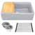"""33"""" Wide Grey Product View 1"""