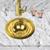 Brass w/o Overflow Installed View