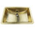 "21"" Rectangle Sink Overhead View"