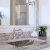 """Nantucket Sinks Brightwork Home Collection 23-3/4"""" W Hand Hammered Stainless Steel Bathroom Sink, 23-3/4"""" W x 16"""" D x 6-3/8"""" H"""