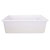 "Nantucket Sinks Cape Collection 32""W Dualmount Rectangular Fireclay Kitchen Sink"