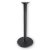 """Peter Meier 3000 Series Signature Line Flat Style Table Base 18"""" Round Bar Height in Black Matte, Base Spread: 18"""" Diameter, Spider Spread: 9"""" Diameter, Height: 40-1/8"""" H"""