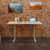 Peter Meier, INC. 24'' D Desk Frame in Grey Lifestyle View