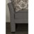 Daybed Medium Gray Fabric Product View 4