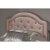 Headboard w/ Headboard Frame Pink Faux Leather Fabric