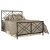 King Size Bed w/ Metal Bed Rail