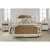King Size Bed w/ Metal Bed Rails White