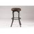 Bar Stool Black & Cocoa Fabric Product View