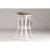 Bar Stool White & Paver Fabric
