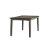 Rectangle Dining Table Distressed Gray