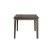 Rectangle Dining Table Distressed Gray Product View 2