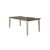 Rectangle Dining Table Sea White Base