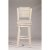 Bar Stool Sea White & Fog Fabric